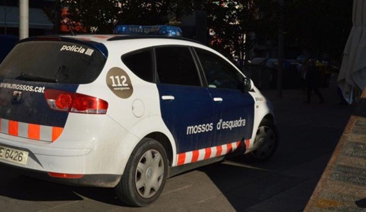 Coche patrulla Mossos d'Esquadra