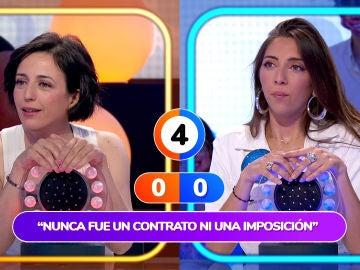 """""""¿Ya has acabado de hablar?"""", Ruth Núñez mete presión a Roberto Leal en 'Pasapalabra'"""