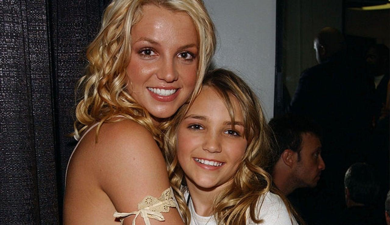 Britney Spears y Jamie Lynn en 2003