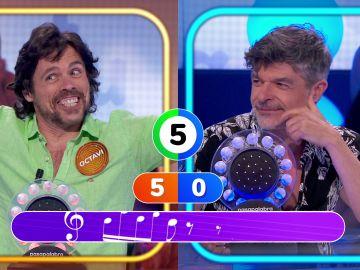 ¡Premio doble! Octavi Pujades resuelve a la primera 'La Pista'… ¡y se lleva el juego de 'Pasapalabra'!