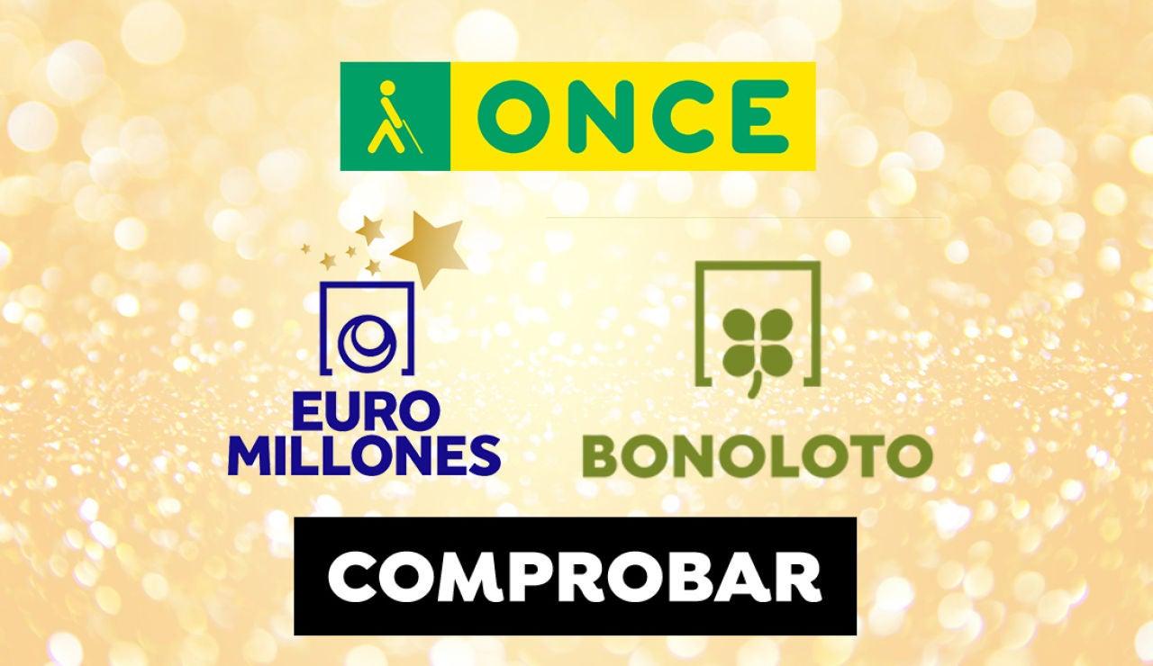 Resultado ONCE, Euromillones y Bonoloto: Comprobar número de los sorteos de la lotería del martes