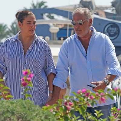 Vicky Martín Berrocal y su novio, Joao Viegas
