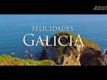 Atresmedia felicita a Galicia por el día de su Comunidad