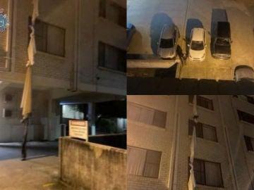 Un hombre se escapa del hotel donde estaba guardando cuarentena