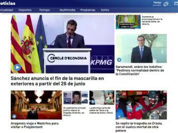 Antena 3 consigue su segundo mejor dato del año en Internet con más de 10,4 millones de usuarios