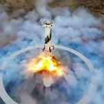 Lanzamiento New Shepard de Blue Origin