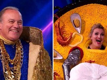 Bertín Osborne y Ainhoa Arteta, desenmascarados en una Semifinal de 'Mask Singer' llena de sorpresas