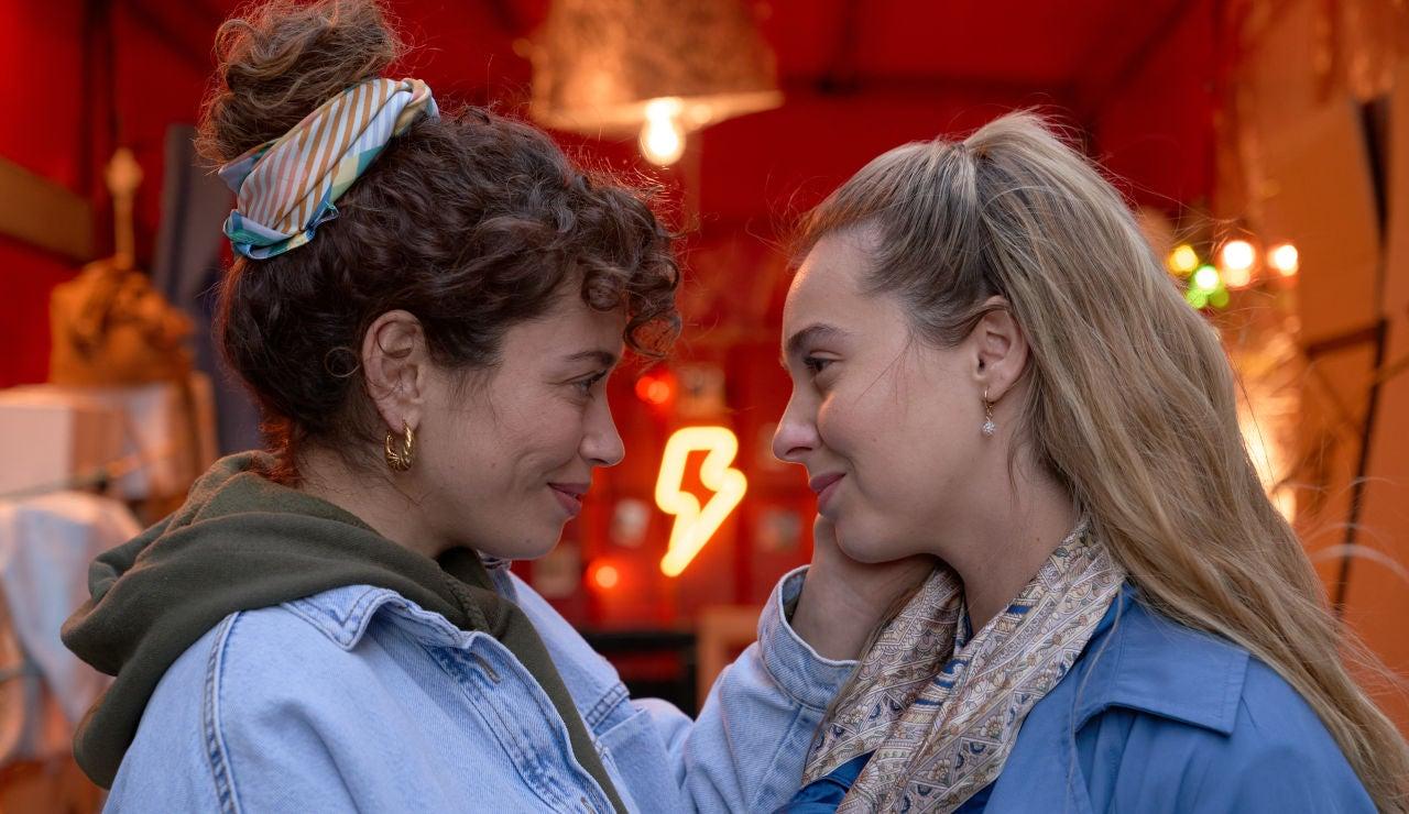 Luisita y Amelia, en la cuarta temporada de la serie