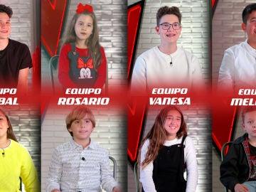 Así son los ocho finalistas de 'La Voz Kids': sus mejores momentos y actuaciones