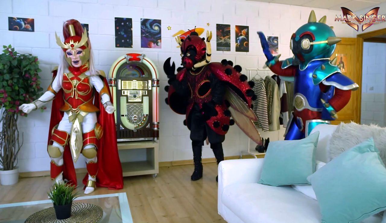 """Robot y Mariquita: """"Dama Centella eres una caja de sorpresas"""""""