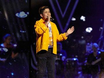 Levi Díaz canta 'Never enough' en la Final de 'La Voz Kids'
