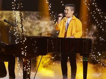 Pablo López y Levi Díaz cantan 'Mamá No' en la Final de 'La Voz Kids'