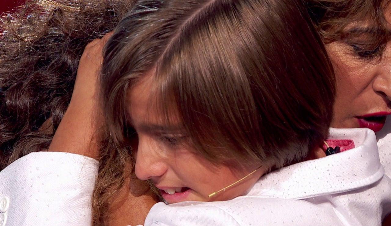 Sonrisas y lágrimas en la despedida de Jesús Montero en la Final de 'La Voz Kids'