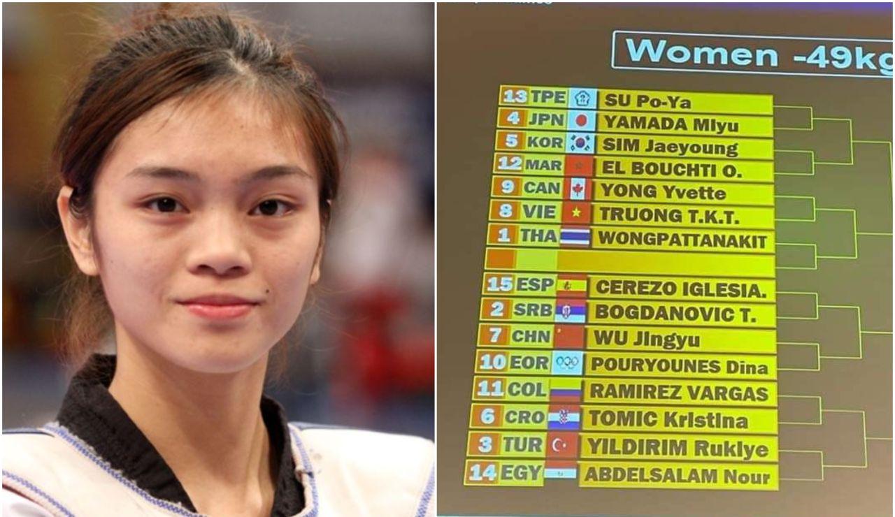 SU Po-Ya, la taekwondista taiwanesa de los JJ.OO que arrasa en redes sociales