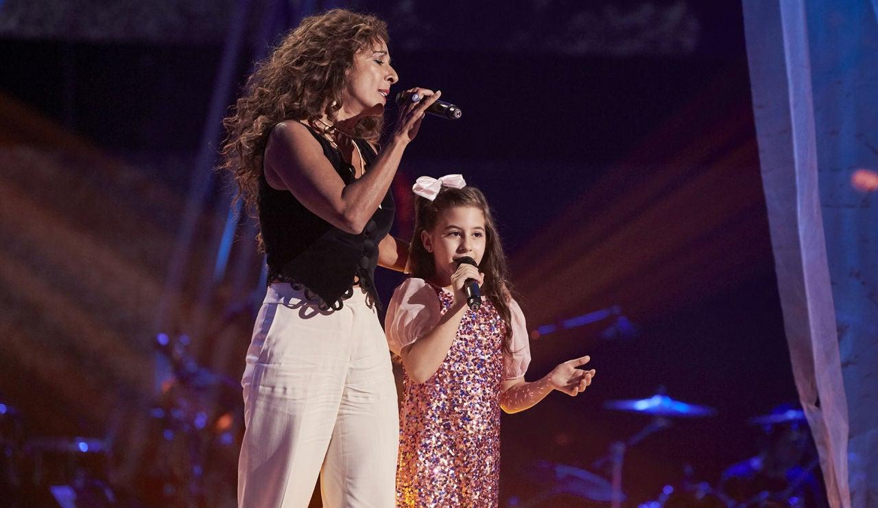 Rosario y Nazaret Moreno cantan 'Tienes que vivir' en la Final de 'La Voz Kids'