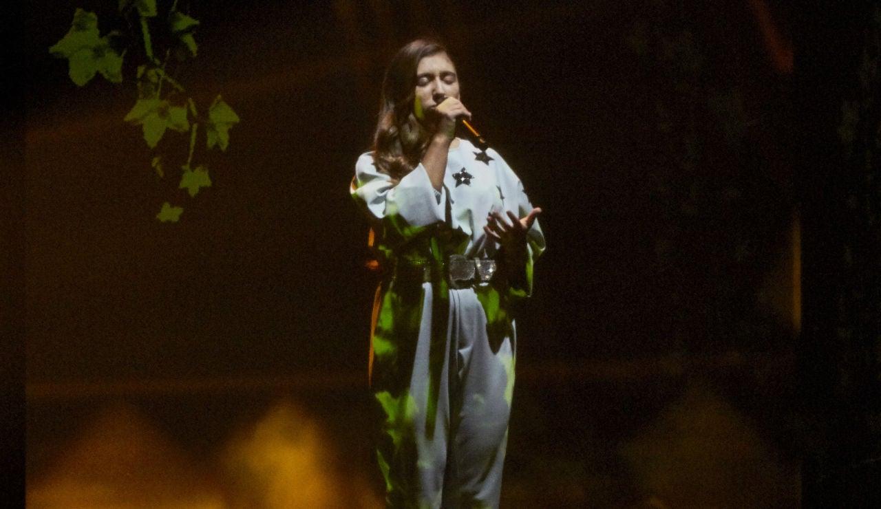 Lola Avilés canta 'Lucía' en la Final de 'La Voz Kids'