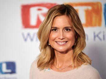 La reportera alemana del canal RTL Susanna Ohlen