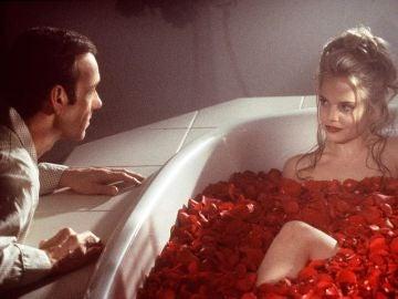 Kevin Spacey y Mena Suvari en 'American Beauty'