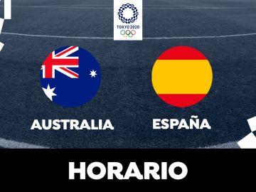 Horario y donde ver el Australia - España de la fase de grupos de los Juegos Olímpicos de Tokio