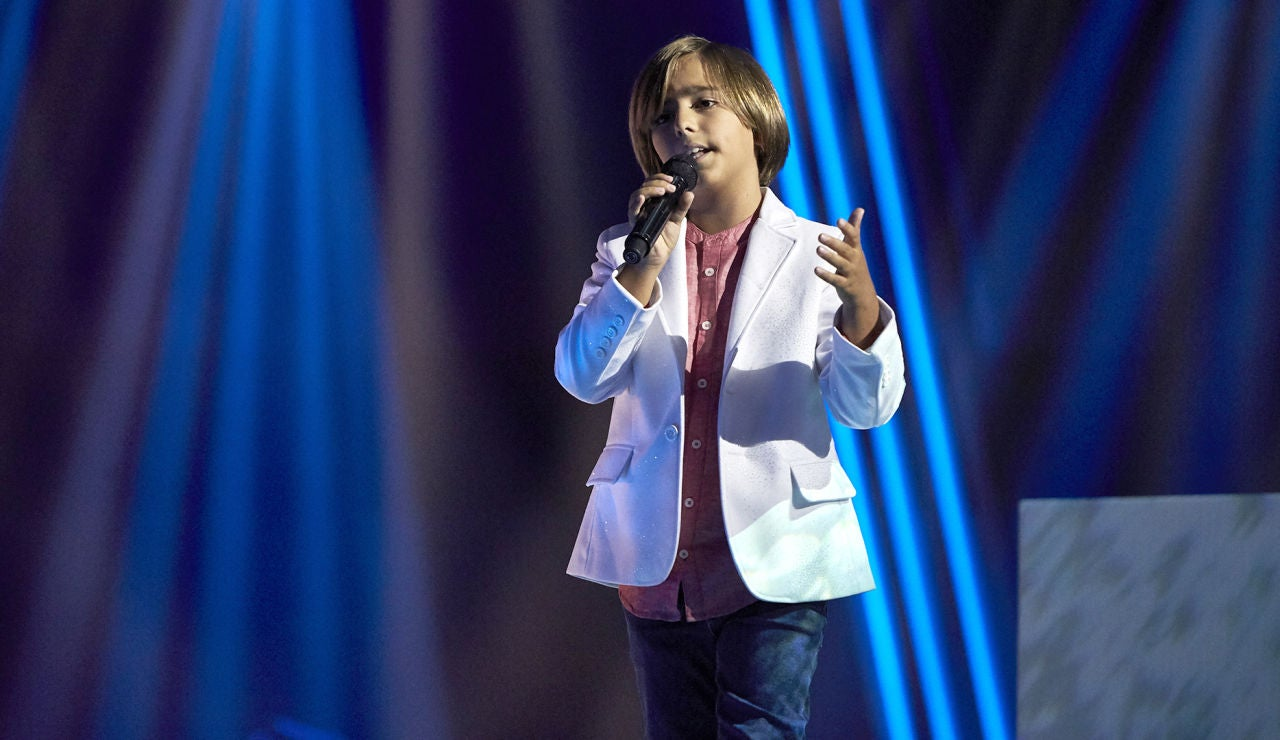 Jesús Montero canta 'Dígale' en la Final de 'La Voz Kids'
