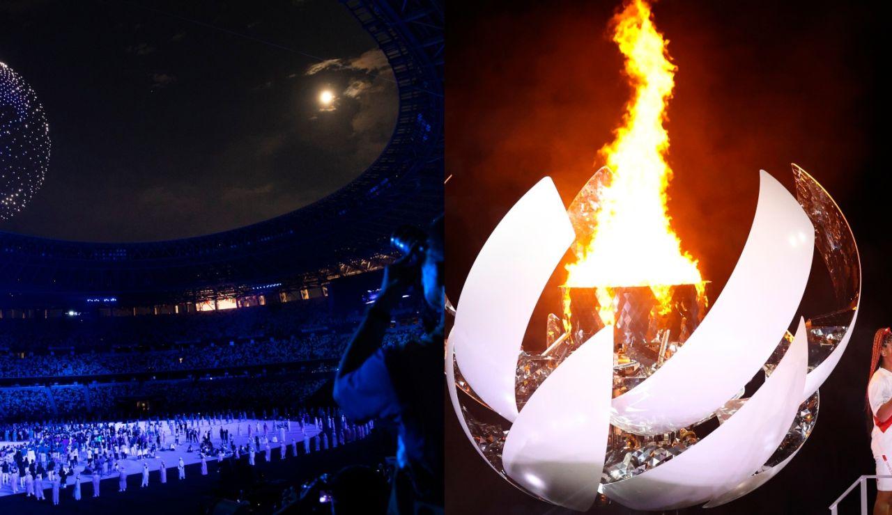 Tradición, homenaje a las víctimas del coronavirus, drones y música de John Lennon marcan la ceremonia de los Juegos Olímpicos de Tokio 2020
