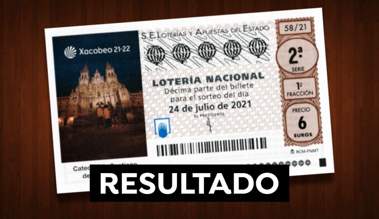 Comprobar Lotería Nacional: Resultado del sorteo de hoy sábado 24 de julio