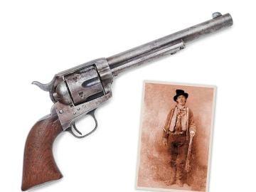 La pistola de Pat Garrett usada para matar a Billy the Kid podría alcanzar los 3 millones de dólares en una subasta