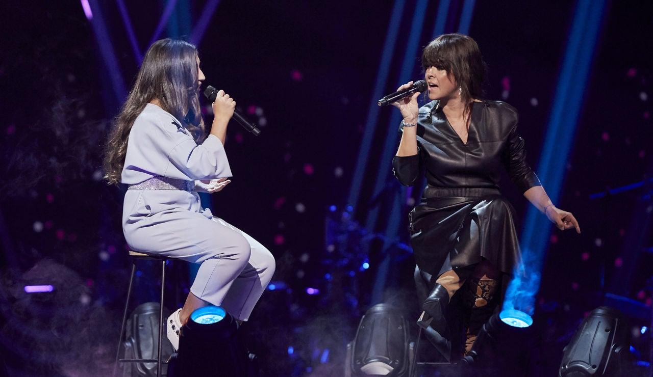 Vanesa Martín y Lola Avilés cantan 'Ya' en la Final de 'La Voz Kids'