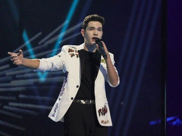 Javier Crespo canta 'Angels' en la Final de 'La Voz Kids'