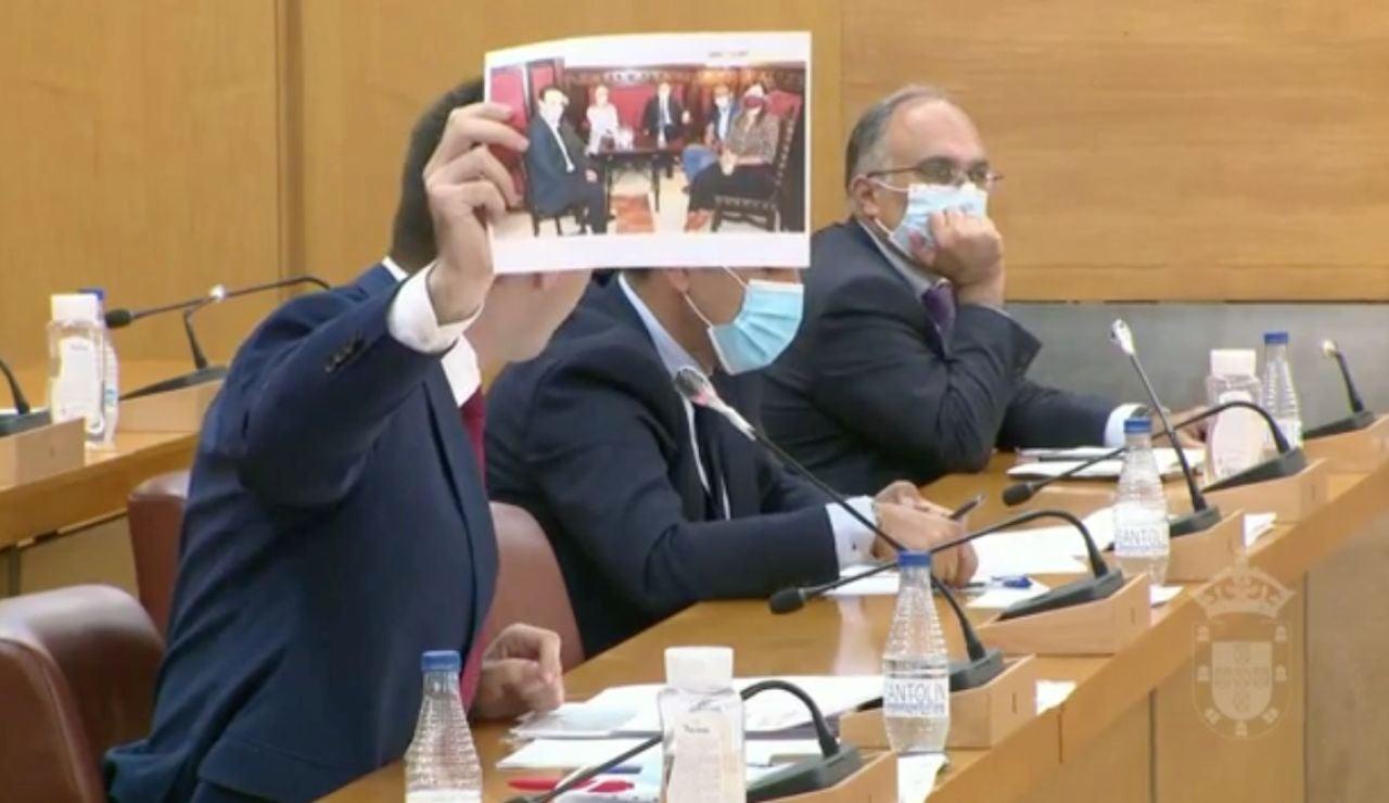 La Asamblea de Ceuta nombra personan non grata a Santiago Abascal