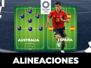 Alineación OFICIAL de España hoy contra Australia en el partido de los Juegos Olímpicos de Tokio 2020