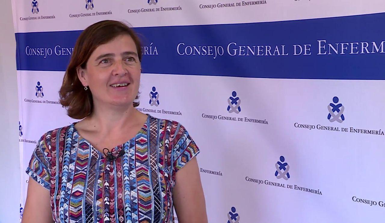 María Eugenia, afectada por Covid persistente