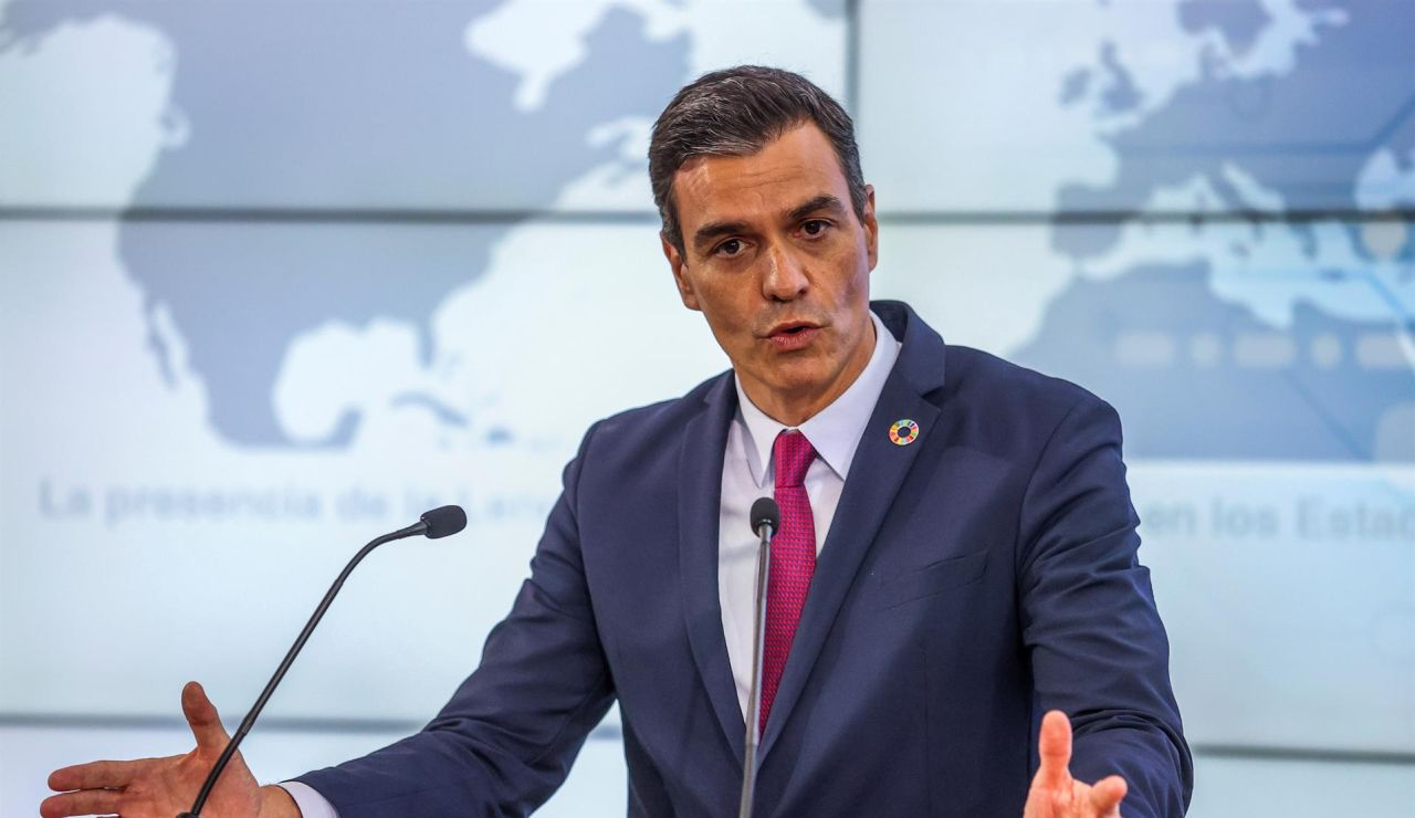 Pedro Sánchez, desde Palo Alto.