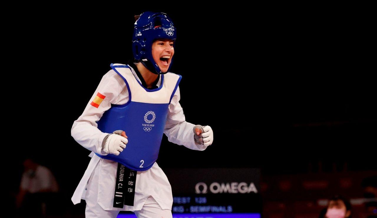 Adriana Cerezo asegura a España la primera medalla en los JJOO tras vencer en Taekwondo.
