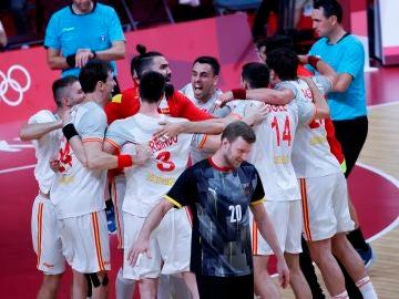 Los Hispanos se estrenan en los Juegos Olímpicos con una victoria ajustada ante Alemania