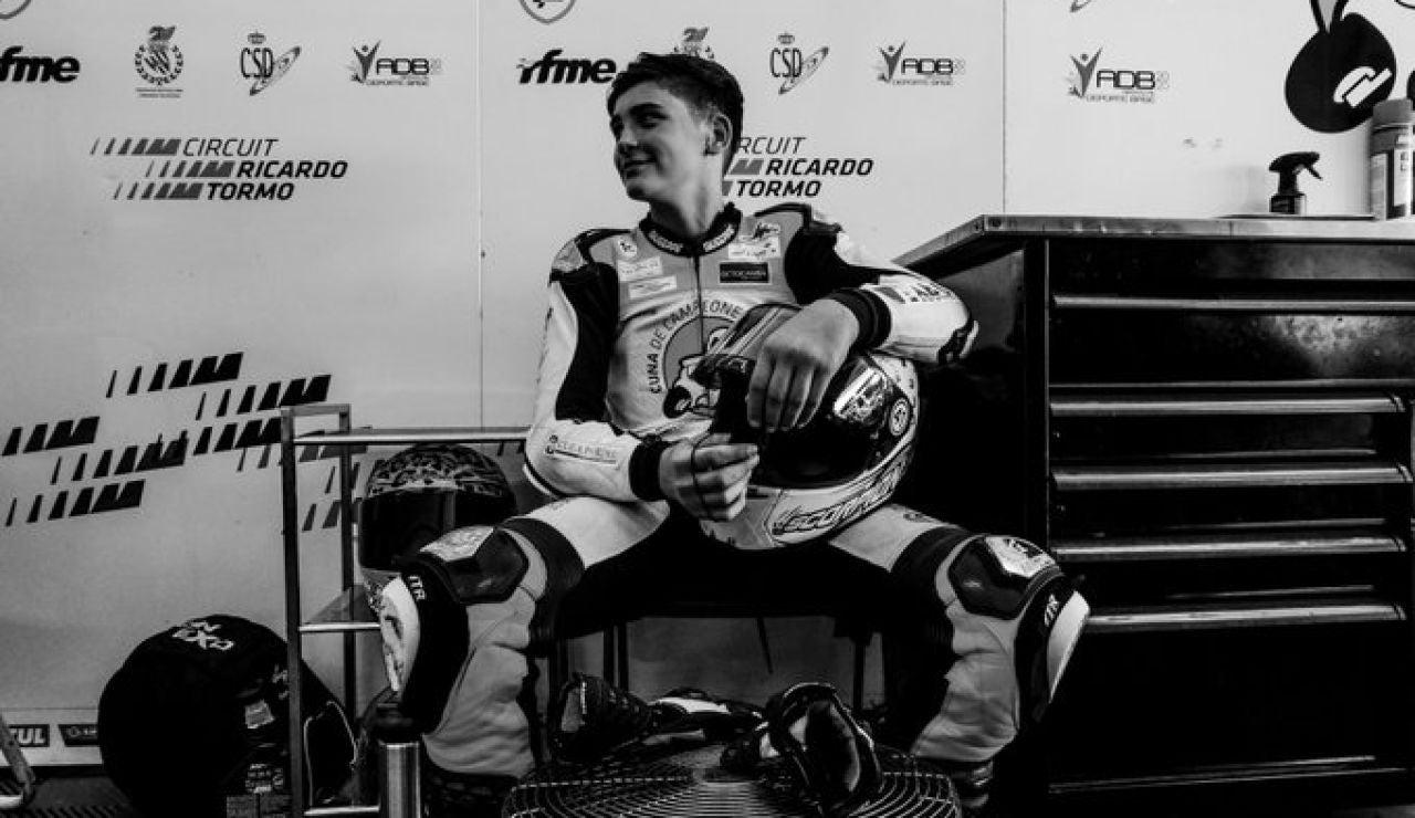Muere el piloto de 14 años Hugo Millán tras un grave accidente en la ETC