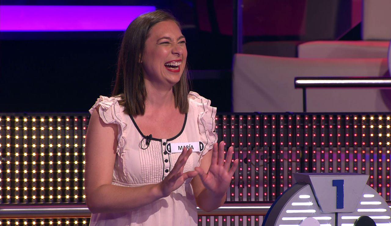 El tierno saludo de una concursante que termina en un divertido lapsus: ¡se olvida de uno de sus hijos!