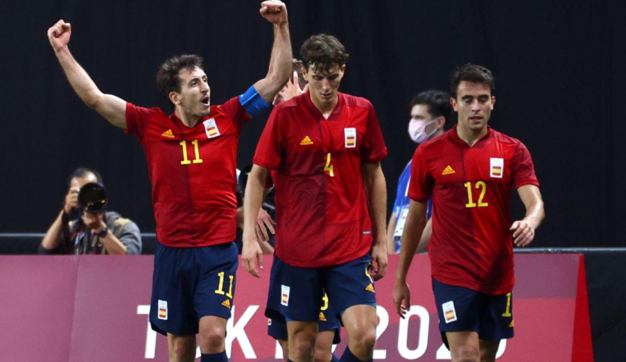 Oyarzabal da la victoria a España frente a Australia y le vale el empate contra Argentina