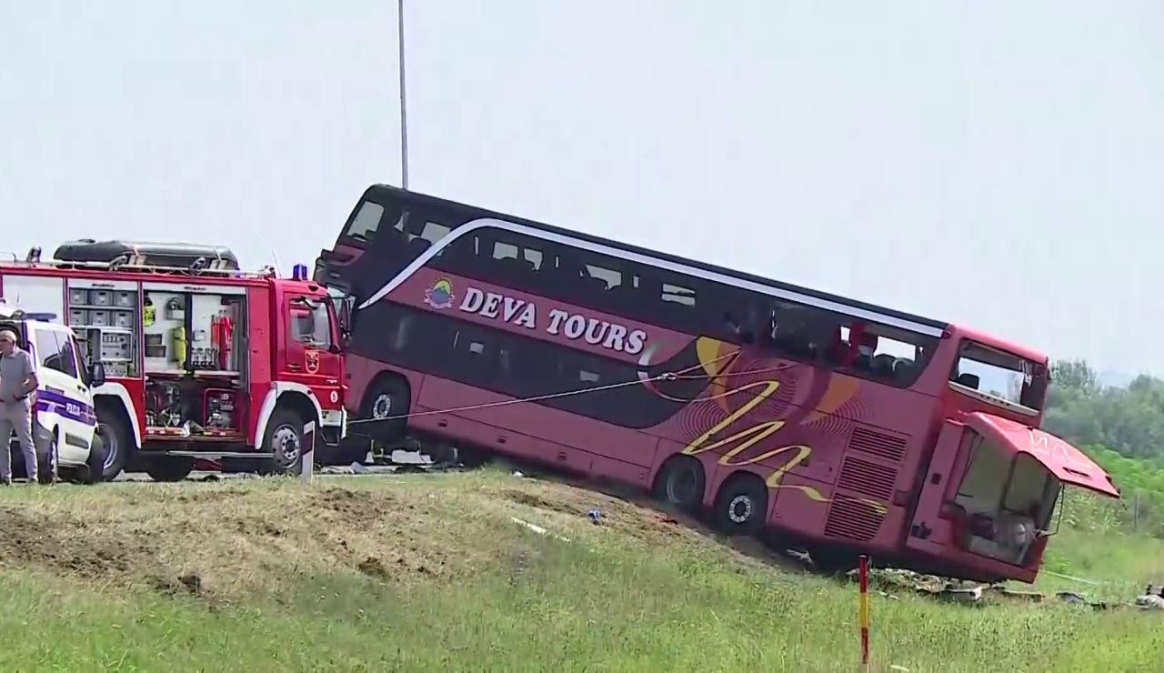 Al menos 10 muertos y varios heridos en un accidente de autobús en Croacia