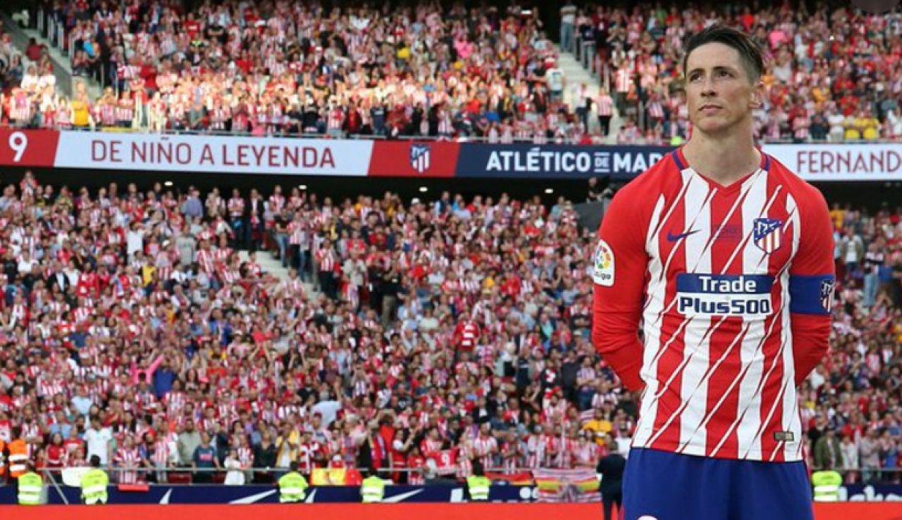 Fernando Torres vuelve al Atlético de Madrid para entrenal al Juvenil A