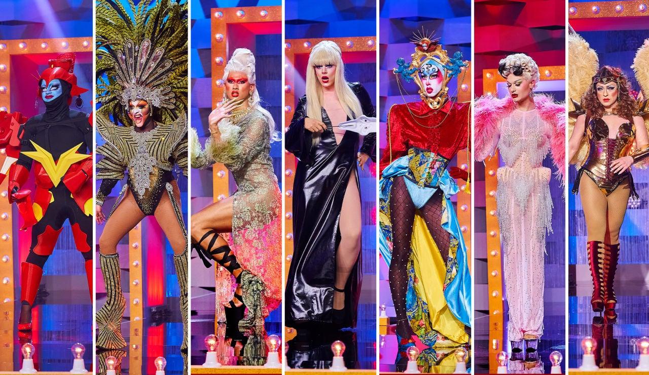 Las reinas de 'Drag Race España' desfilan juntas por última vez: ¡han vuelto todas!