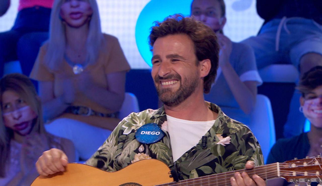 'Me gusta la vida', Diego Cantero presenta el nuevo sencillo de Funambulista en 'Pasapalabra'