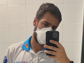 Jorge Prieto, el enfermero del Wanda