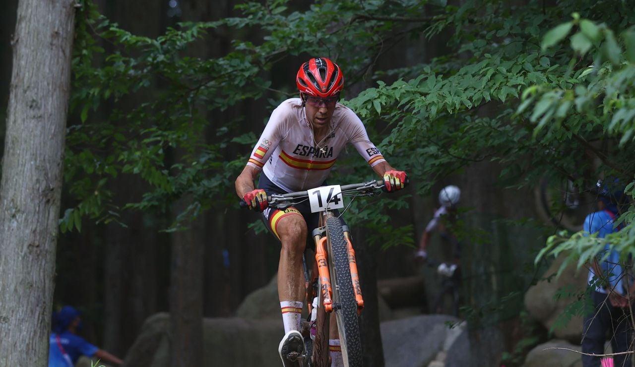 David Valero logra la medalla de bronce en la prueba de mountain bike de los JJOO de Tokio 2020