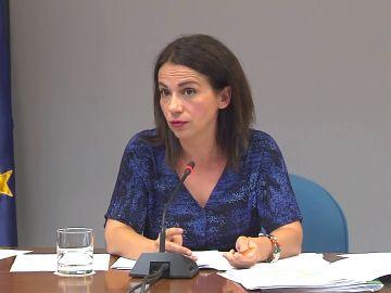 Comparecencia de Silvia Calzón sobre la pandemia y la vacunación hoy, 26 de julio, vídeo íntegro