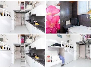 El piso de Idealista que mide 15 metros cuadrados y por el que tendrás que pagar 15.000 euros