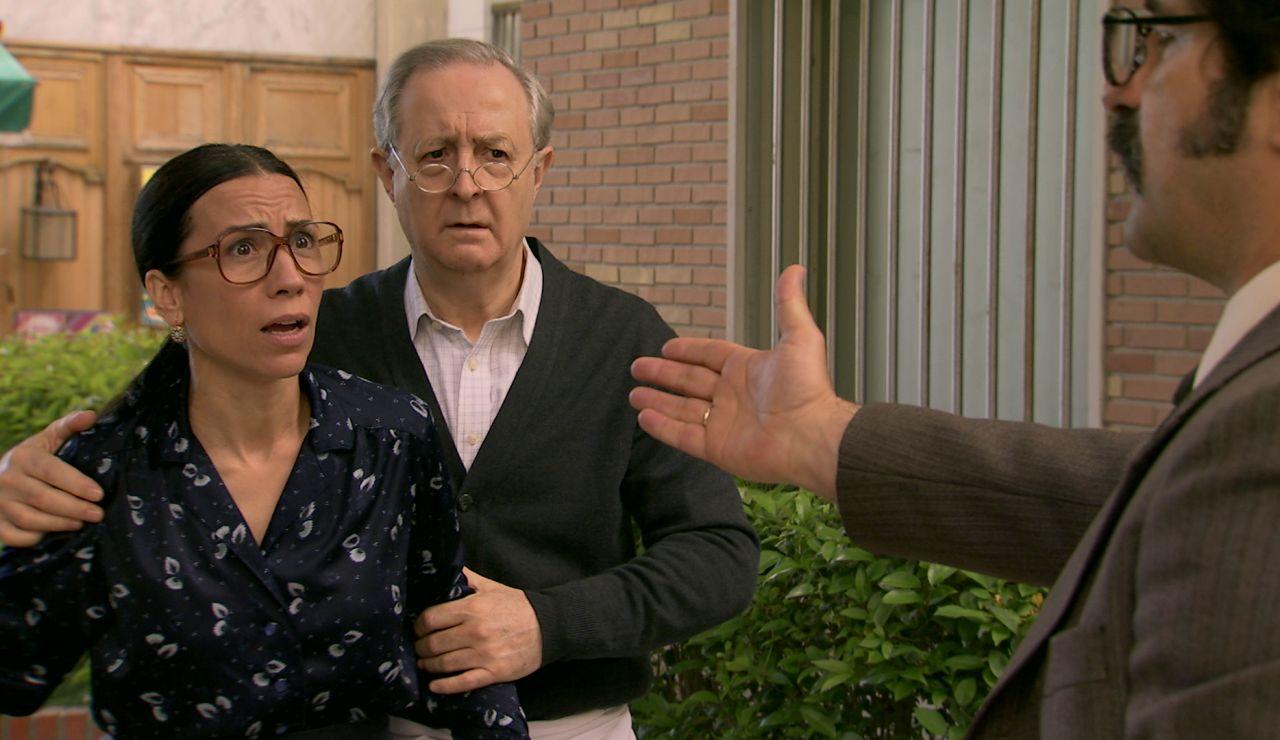 Anabel, arrancada de los brazos de Manolita: ¡detenida en plena Plaza de los Frutos!