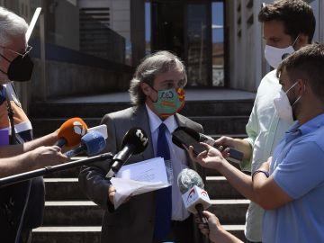 Germán-Ramón Inclán Méndez, abogado de los cuatro ciudadanos portugueses presuntamente implicados en un caso de violación a dos mujeres.