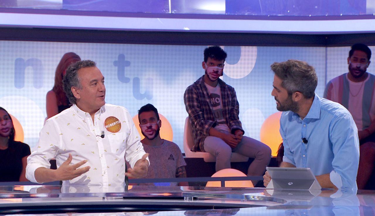 """Roberto Brasero copia el estilo de Marco Antonio y le reta: """"A ver si mis plátanos ganan"""""""