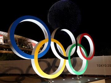 PUZZLE: Reconstruye la imagen de los aros olímpicos